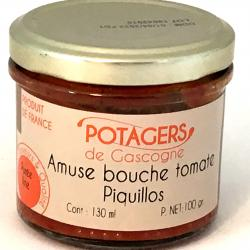 Amuse bouche tomate piquillos 100g (bocal)