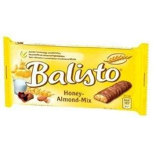 Biscuits miel amandes 37 g balisto vendu a l unite