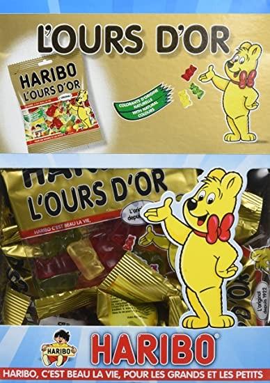 Bonbons l ours or 40 g le sachet vendu a l unite