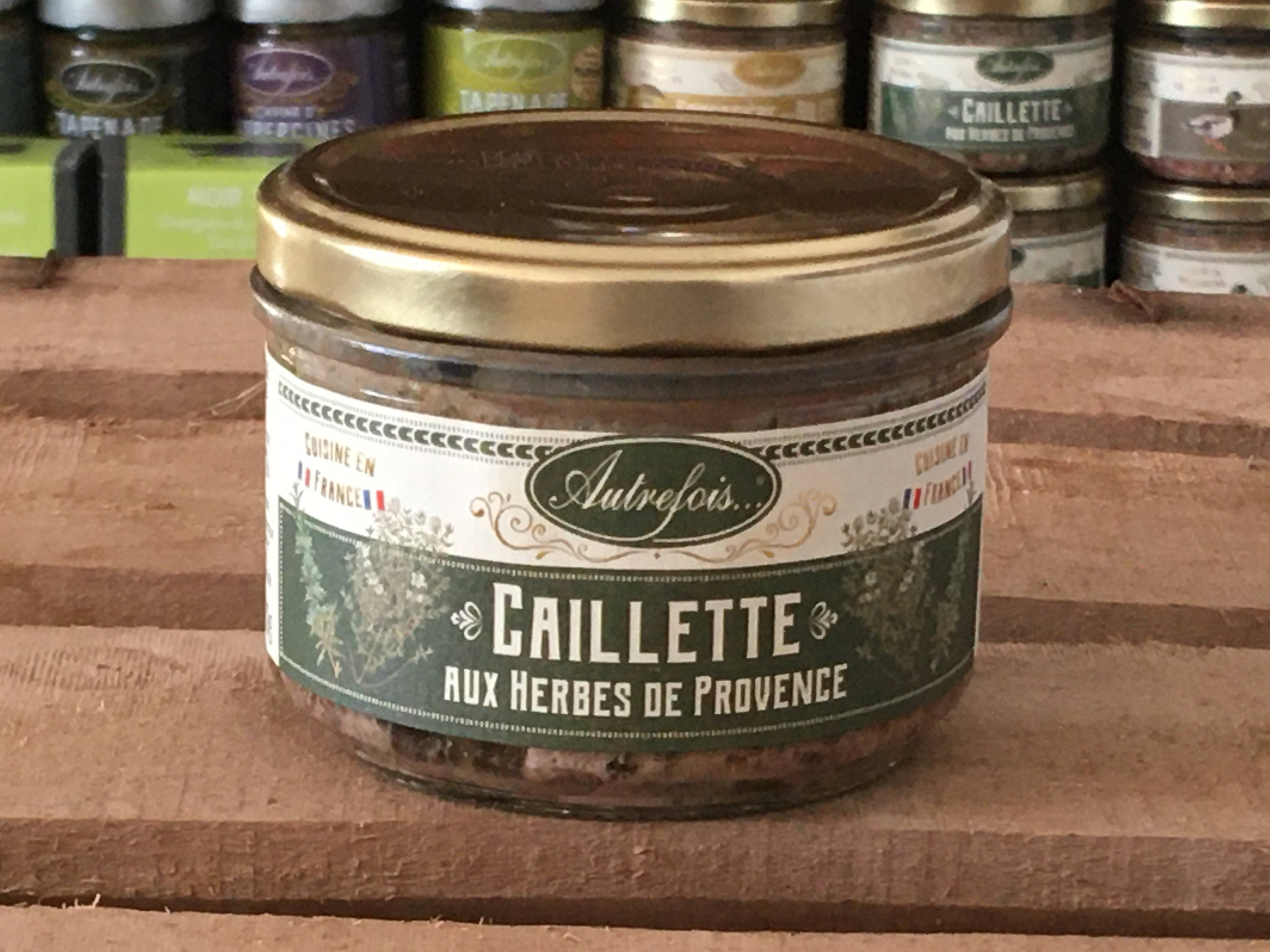 CAILLETTE HERBES PROVENCE 180g Autrefois Terroir Milhaud Gard