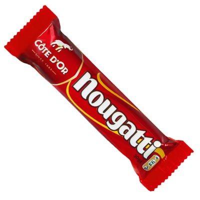 Chocolat nougatti 30 g cote d or vendu a l unite