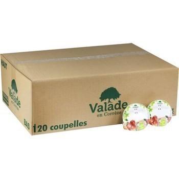 Compotes allegees en sucres 100g valade vendu a l unite
