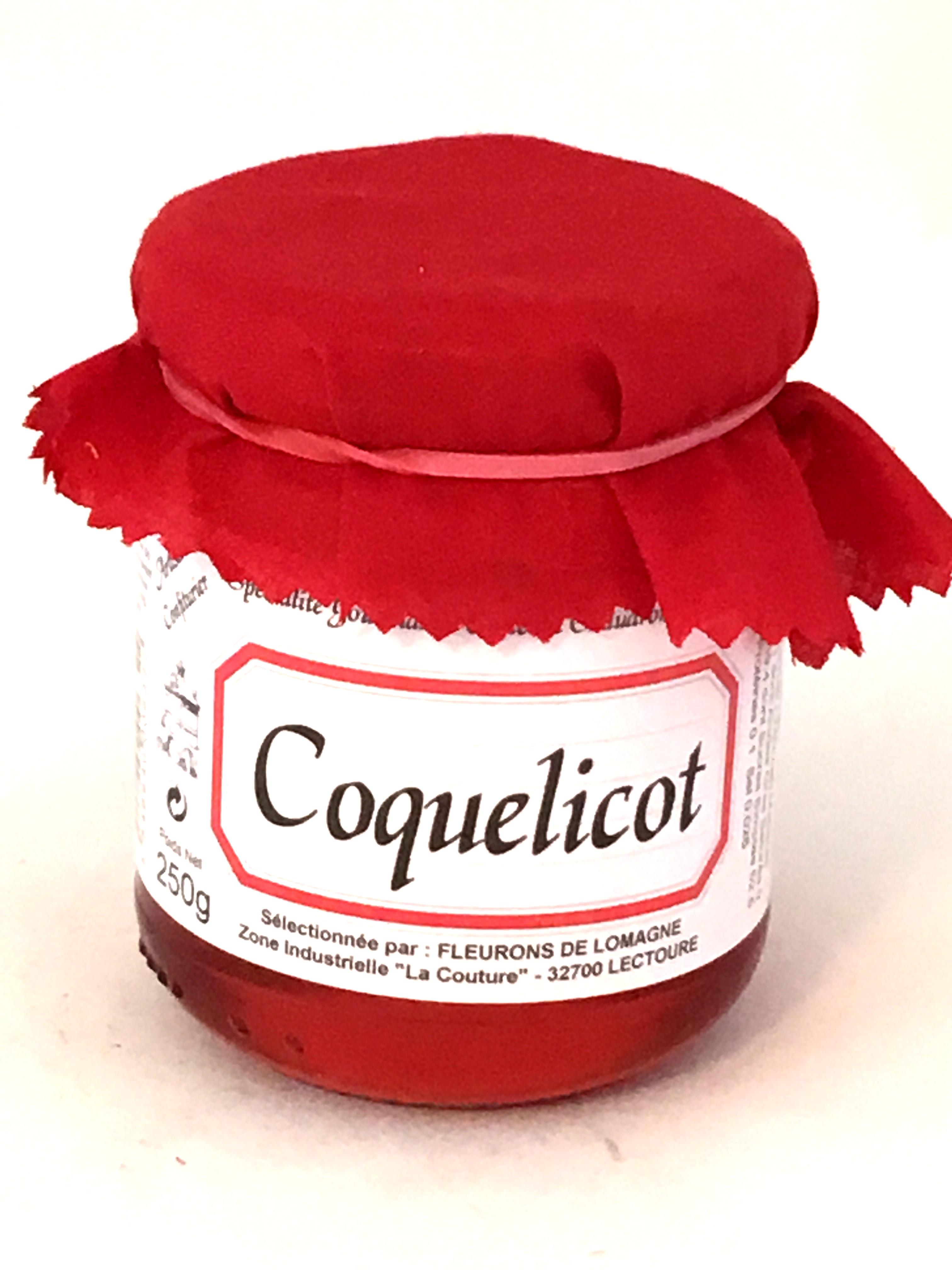 Confit de coquelicot 250g (bocal)