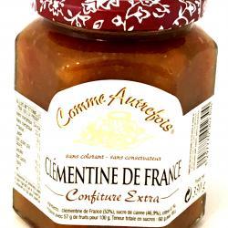 Confiture de clémentine de France 330g (bocal) fabriqué par un ESAT