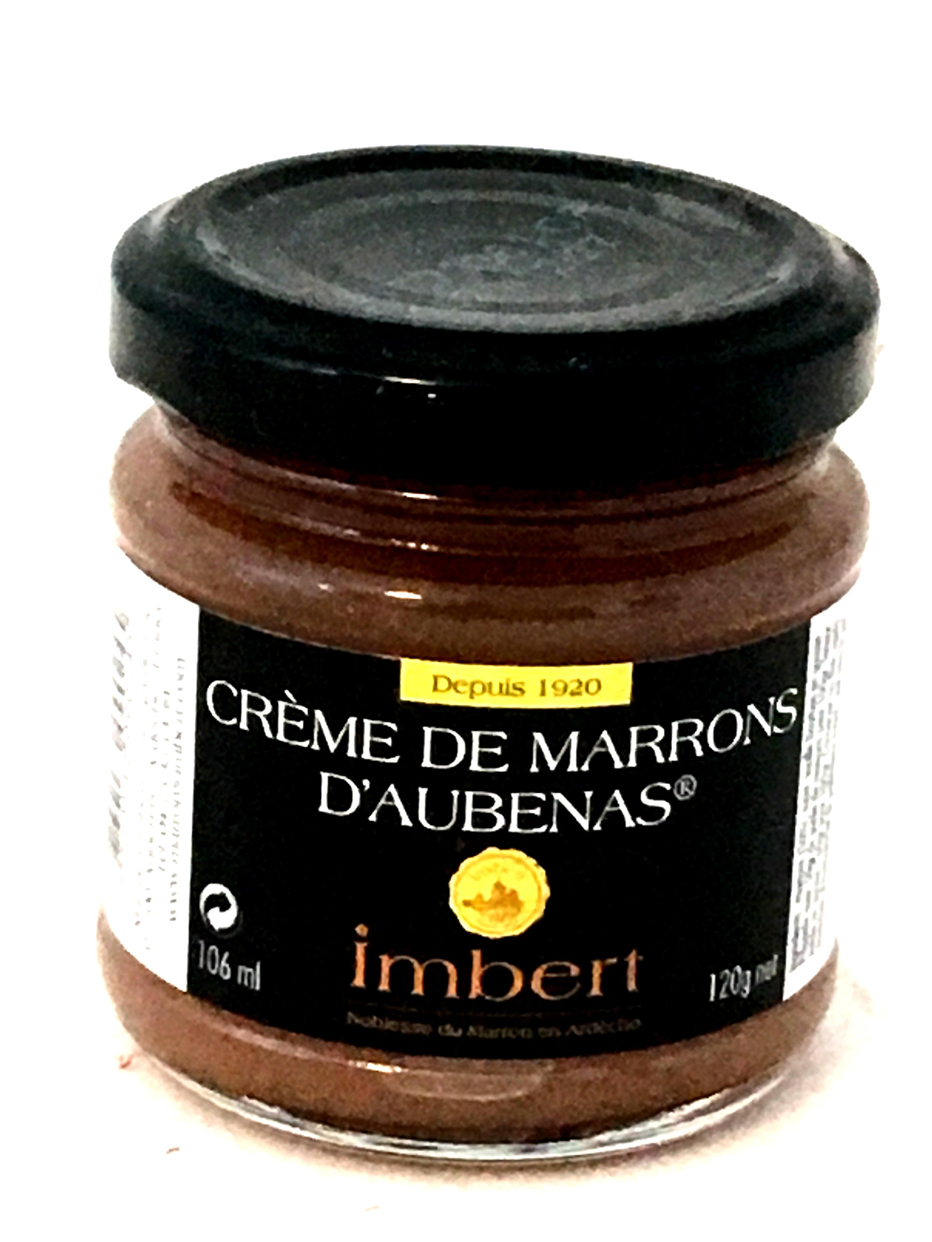 Crème de marrons d'Aubenas 120g