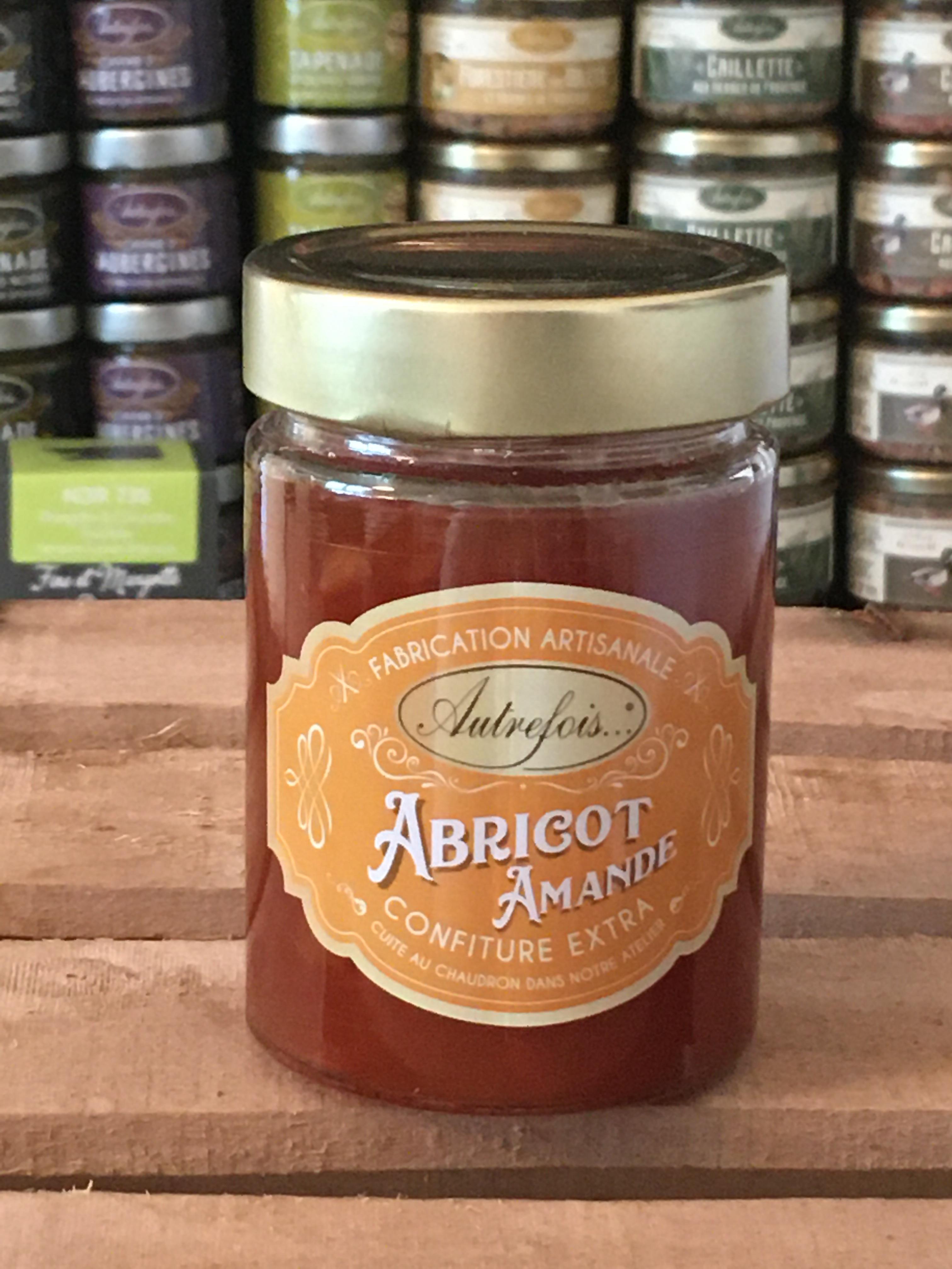 confiture d'abricots autrefois terroir