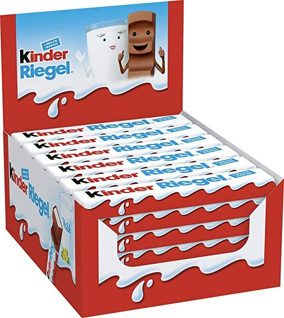 Kinder maxi chocolat 24 g vendu a l unite