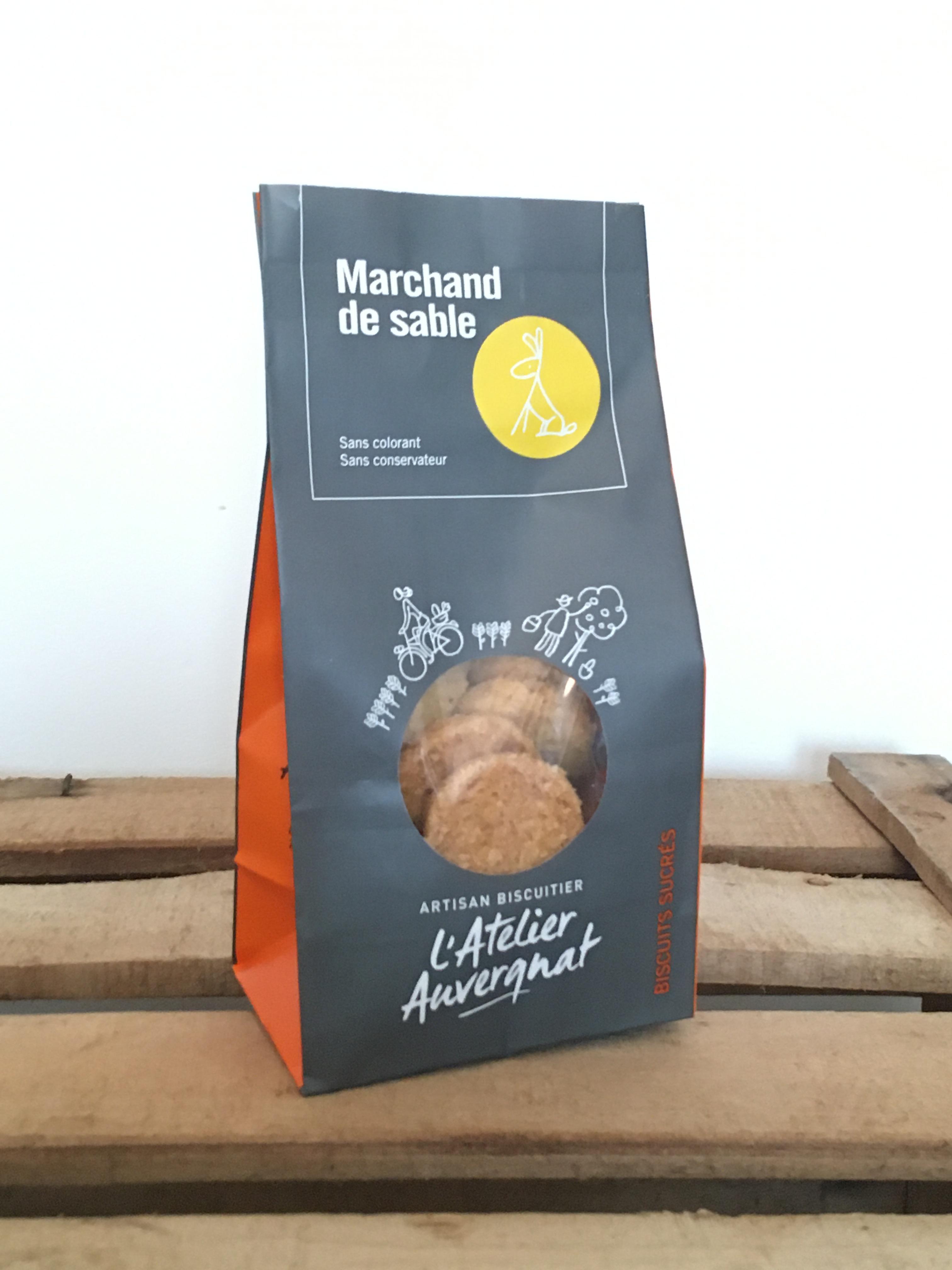 MARCHAND de SABLE Sucrés 140 g Biscuiterie L'atelier auvergnat