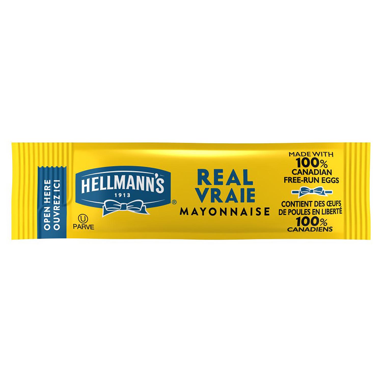 Mayonnaise dosettes 10 ml hellmann s vendu a l unite