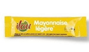 Mayonnaise legere 10 g ilou vendu a l unite