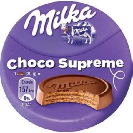 Milka choco supreme 30 g vendu a l unite