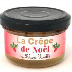 Mini crêpes de Noël au Rhum vanillé 110g (bocal de 4)