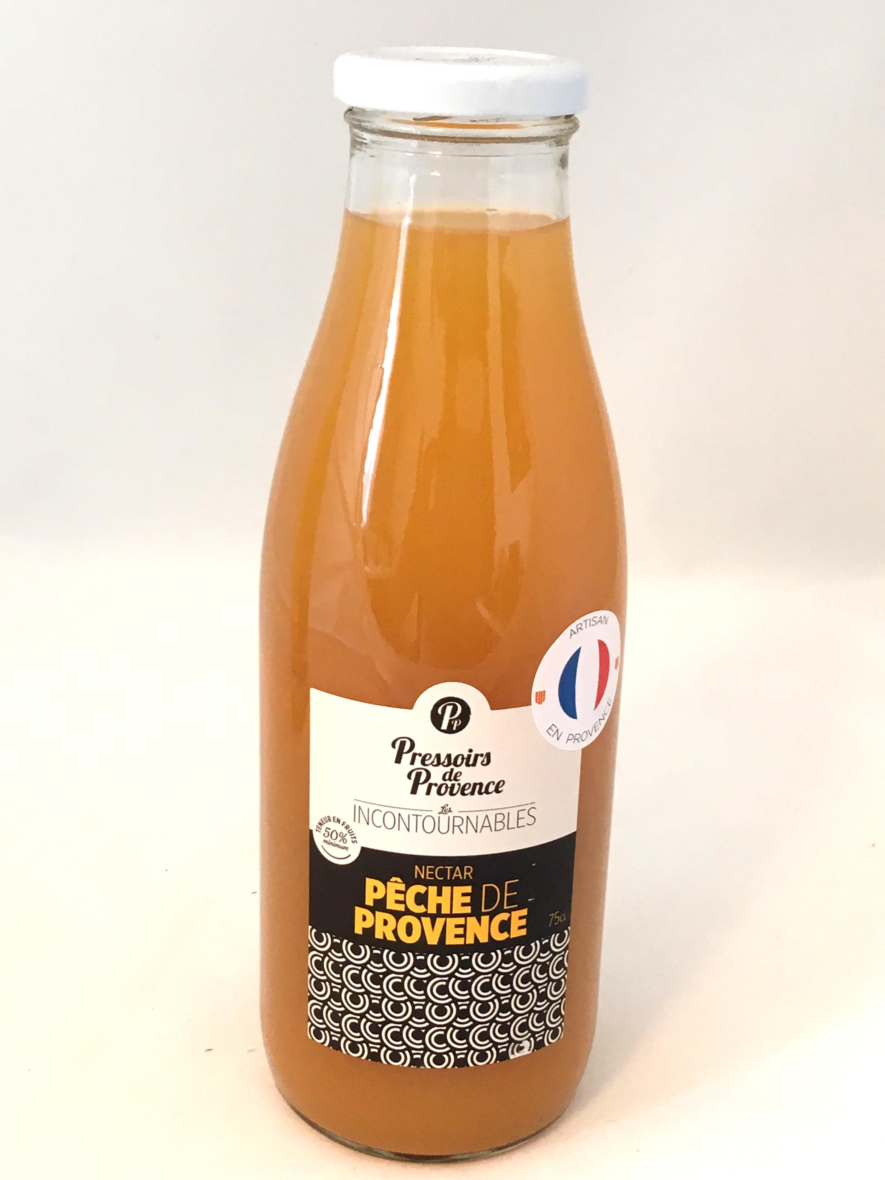Nectar de pêche de Provence 75cl (bouteille)