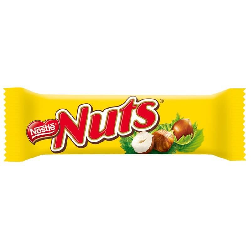 Nuts barre 42 g nestle vendu a l unite