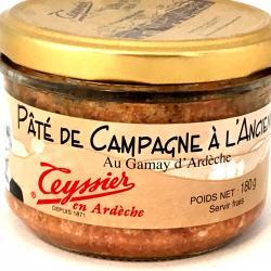 Pâté de Campagne Ardéchois à l'ancienne Teyssier 180g