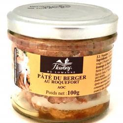 Pâté du Berger au Roquefort AOC 100g (bocal)