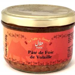 Terrine de foie de volaille Halal 180g