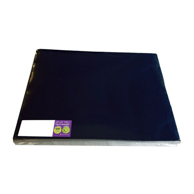 100 sets de table 30 x 40 cm noir