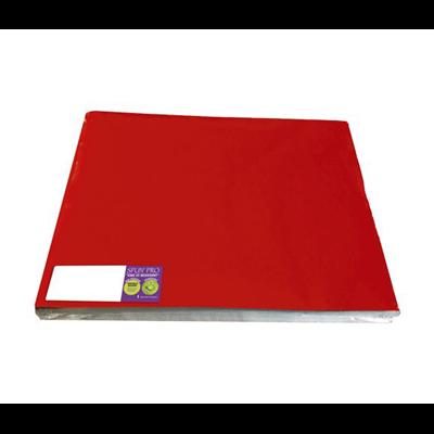 100 sets de table 30 x 40 cm rouge