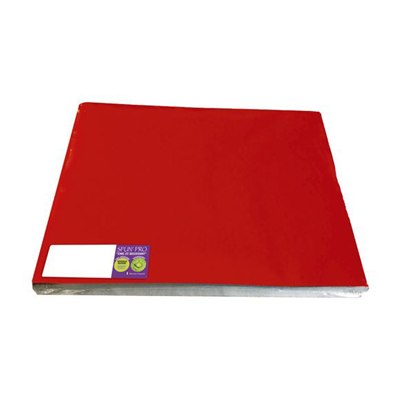 100 sets de table 30 x 40 cm rouge