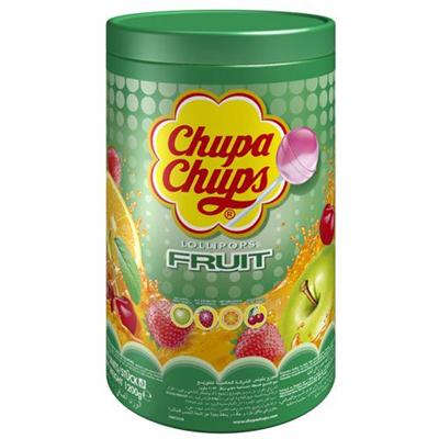 100 sucettes fruit lolipops chupa chups