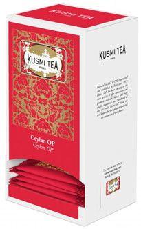 25 sachets ceylan op 55 g kusmi tea