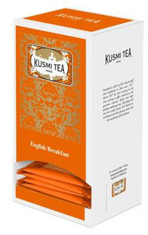 25 sachets english breakfast 55 g kusmi tea
