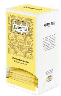 25 sachets the vert au jasmin 55 g kusmi tea