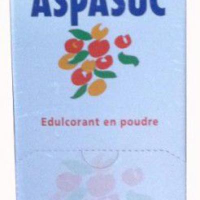 250 sticks d aspartame en poudre aspasuc