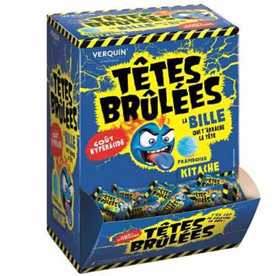 300 tetes brulees kitache framboise fraise verquin