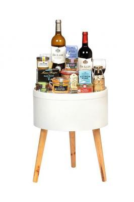 A table panier gourmand de noel