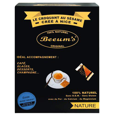 Accompagnement cafe sesame miel 200 x 5 g