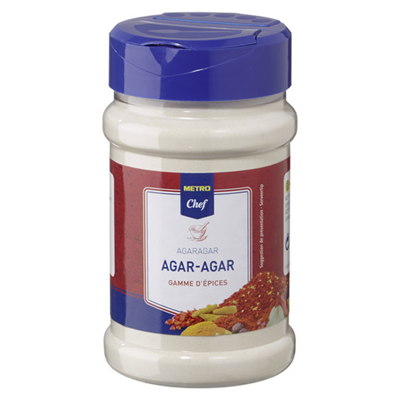 Agar agar pot 180 g metro chef