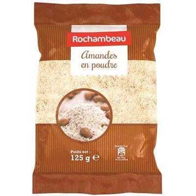Amande en poudre 125 G Rochambeau