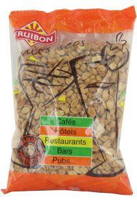 Arachide blanchie aromatisee et grillee a sec 1kg fruibon