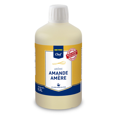 Arome amande amere 50 cl metro chef 1