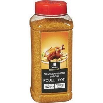 Assaisonnement special poulet roti 750 g