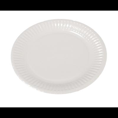 Assiette jetable en carton blanc 23 cm vendu par 100 1
