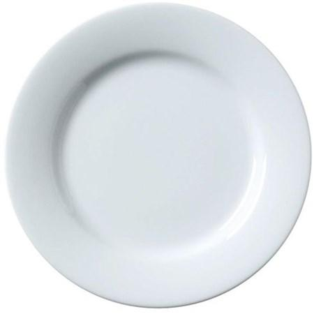 Assiette julia blanche 27 cm vendu par 10 pour professionnels