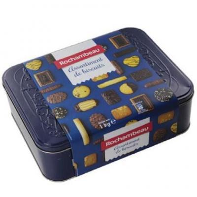 Assortiment de biscuits 1 kg rochambeau pour professionnels