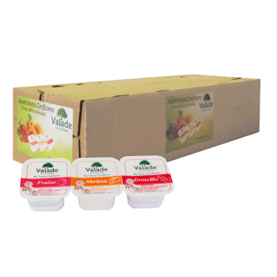 Assortiment de confiture 120 x 30 g valade
