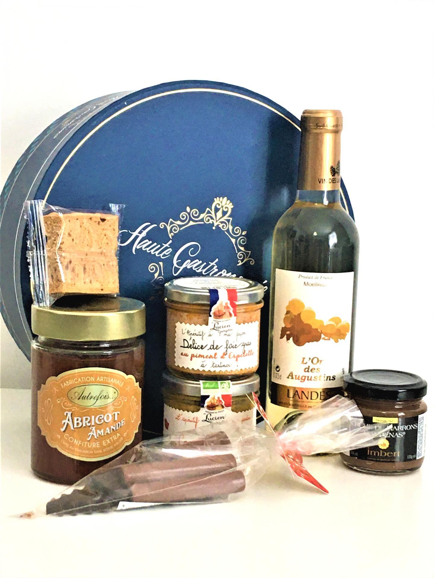 Azur gourmand panier gourmand de noel ccas 1