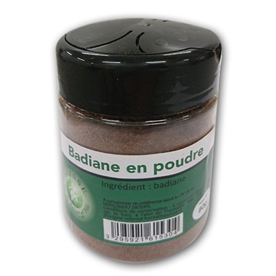 Badiane en poudre saisse 80 g 1