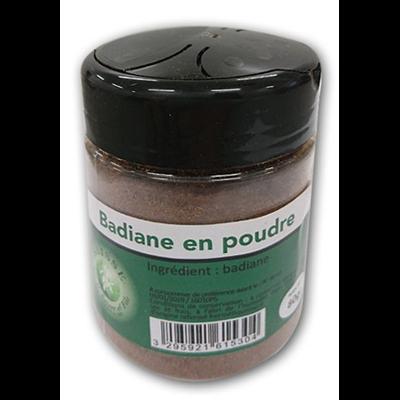 Badiane en poudre saisse 80 g