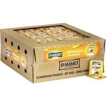 Barquettes de miel format economique les 180 barquettes de 20 g st mamet