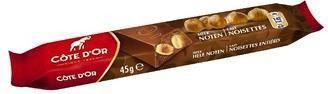 Barre chocolat lait noisettes 32 x 45 g cote d or pour bureau