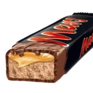Barre chocolatee 51 g mars legende vendu a l unite