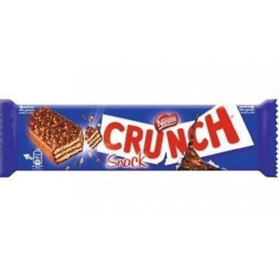 Barre crunch snack 33 g vendu a l unite