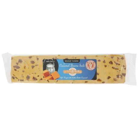 Barre de nougat tendre au caramel au beurre sale 100 g