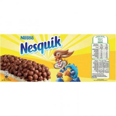 Barres chocolatees nesquik de nestle vendu a l unite